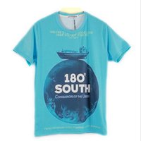 beach t shirts for men - 2015 Brand Printing T shirt For Men Summer Style Male Tees Beach Vocation Short Sleeve Active Men s T shirt Camisa MTS672