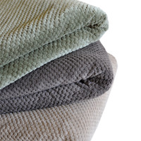 Wholesale Home Knitted Tweed Throw Couch Cover Blanket soft warm Home Textile