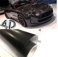 airs textured - 200mmX1520mm D Black Carbon Fiber Textured Vinyl with Bubble Free Air Release DIY Wrap Sheet Film Car Sticker Decal Car Styling
