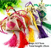 Wholesale New sachets The perfume pouch will be Portable paperback Dried flower petals Mesh bags Archaize embroidery sachet embroidery Sachets