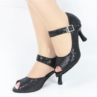 Wholesale Ms professional modern dance ballroom dance shoes high heel dance optional cm cm cm three sizes clz0263