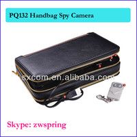 Wholesale 8GB Handbag Camera man Bag spy Camera mini Hidden Camera Vedio Recorder Camcorder Mini DV DVR PQ132