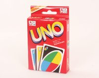 Wholesale UNO poker card standard edition family fun entermainment board game family game all togetherby imgirl