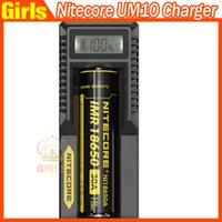 Wholesale Nitecore UM10 Charger Authentic Nitecore UM20 Intelligent Multi Functional with LCD Display Battery Charger Original