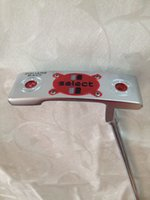 Wholesale golf clubs New select square back putters inch with steel shaft include headcover golf putter