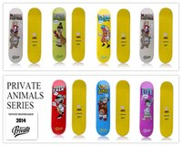 Wholesale 2015 Privated Brand Skate Board Decks quot Canadian Maple Decks Street Sliding Boards for Complete Skateboarding