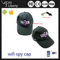 Cheap Indoor Wifi spy cap camera Best Infrared CMOS wireless hat hidden came