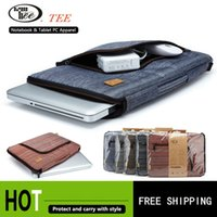 tablet pc laptop - laptop bag tablet sleeve case with handle PC handbag inch computer notebook cover Tablet bag