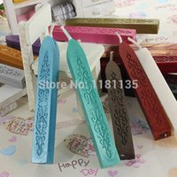 Wholesale New Traditional Cord Wick Vintage Sealing Wax Sticks For Postage Color Choose