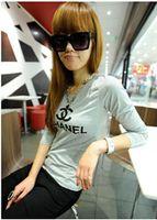 Wholesale new Hot Sale Summer New Women T Shirt Ms Solid Color Sleeve T shirt Women s Fashion Cotton T shirt