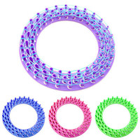 band braclets - New Style Round Loom Board For Colourful Rubber Bands Kit Refill Making Unique Braclets Board order lt no tracking