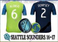 wholesale soccer jerseys - Whosales Discount SeattleE SoundersS Jersey Soccer Jersey Football Shirt Soccer Jerseys Soccer Uniform MLS Thai Quality DEMPSY