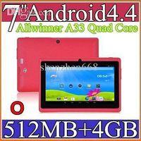 sh - good SH inch Capacitive Allwinner A33 Quad Core Android dual camera Tablet PC GB MB WiFi EPAD Youtube Facebook Google PB7A