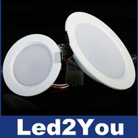 Wholesale Super Bright Dimmable Led Downlights W W W W W W Led Recessed Lights Angle Warm Cold White AC V