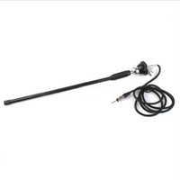 Wholesale Inch Black Stick Car Auto Radio AM FM Amplified Swivel Base Antenna Universal