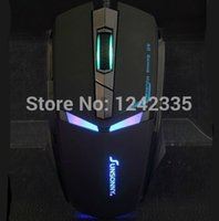 best wow mouse - SUNSONNY Iron Man style High Performance D game Mouse for Laptop PC CS WOW LOL DPI Best Selling