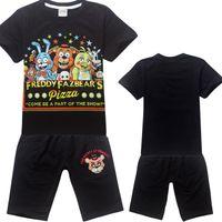 Wholesale Kids Cartoon Summer Set Short Sleeve Pajama Set Baby Boys five nights at freddy s Pajamas Batman Sleepwear Kids Short Clothes Set
