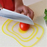 Wholesale Hot Sale creative thin cutting plate plastic cutting board cut fruit board healthy family kitchen tool CC2376