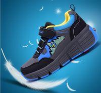 kids sneakers - 2014 New Children Heelys boys and girls shoes waterproof heelys rollerskate roller shoes kids fashion sneakers Size31 TX86