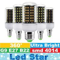 E27 E14 G9 GU10 a conduit les lumières de point 12W 18W 25W 30W 35W SMD4014 Ampoules commandées Lumières de maïs AC 85-265V ce ul csa saa
