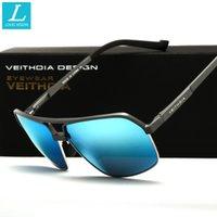 Wholesale Aluminum Magnesium Alloy Polarized Sunglasses Men Vintage Male Sport Sun glasses Accessories Driving oculos