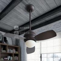 Wholesale Modern Leaf Ceiling Fan Lamp With Remote Control Ceiling Fan with Lights ventilador de teto Fixture Lighting order lt no track