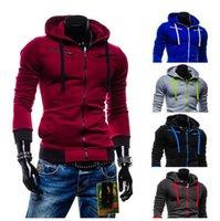 Wholesale Hoodies Brand New Men S Fall Winter Fashion Designer Casual Hooded Sweatshirt Men colors Hoodies Long Sleeve jacket men sport clothing