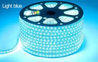 Wholesale Waterproof RGB Led Strips M M M M M M M M M V V SMD5050 Christmas Decorative Lights IR Remote Control Power Supply