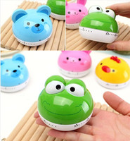 animal kitchen timers - Pieces Kitchen Timers Cute Animal Shapes To Choose Cooking Timer Cartoon Mini Minutes Mechanical Timer Alarm Clock