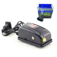 Wholesale 2015newNew Arrival W Super Silent Adjustable Aquarium Air Pump Fish Tank Oxygen Air Pump