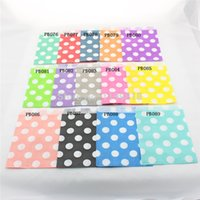 bar merchandise - Chevron Paper Bags Polka dot Candy Bars Favors Packaging Gifts Colored Paper Party Bags Merchandise Bags Wedding Bags Bridal Bags