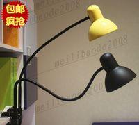arm desk led lamp - llfa84 Large metal long arm study office minimalist style incandescent energy saving LED lamp IKEA desk lamp clip