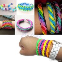 al hair - multi Colors Silicone Rubber Hair Band Rope Ponytail Elastic HeadBands Ties Plaits Head Accessories For Baby Girls AL