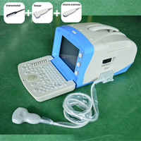 Wholesale Any three probes veterinary Ultrasound Scanner Machine hot sale cheap price animal ultrasound vet ultrasound small animal ultrasound medica