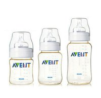 avent bpa bottle - New Avent Starter Set Classic Newborn Bottle Kit Natural Mamadeira Avent Baby Infant Feeding Bottles BPA FREE ml ml ml