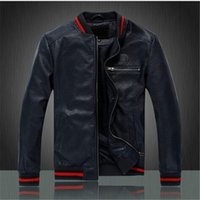 best leather jackets brands - Fall Fashion business casual men s leather jacket Brand leather jacket best quality silm classic
