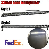 Wholesale Cree inch W Combo Work Driving Led Light Bar Offroad x4 UTE for Jeep Boat SUV order lt no track