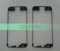 Wholesale For iPhone S Plastic Digitizer Frame For iPhone5S Touch Screen Bracket Holder Bezel Housing white and black color DHL free