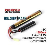 Wholesale Original Firefox Super Power v mAh C LiPolymer Battery Pack for Airplanes Airsoft Tactical Outdoor Battery Pack order lt no track