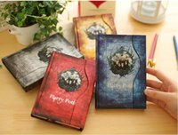 Wholesale New Harry Potter Magnetic Clasp Colorful Pages Vintage Notebook Stationery Diary book High Quality Notepad School Supplies Christmas gift