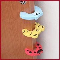 Wholesale Children s Safety Accessorie Children s cartoon safe door card door clamp pinch your fingers to prevent the baby