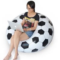 Wholesale Hot Sales Inflatable Sofa Adult Football Self Bean Bag Chair Portable Garden Corner Sofa Living Room Furniture JF0002 Smileseller