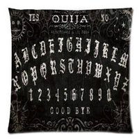 Wholesale Ouija Board printing Pillowcase x18 inch Zippered Pillow Cover