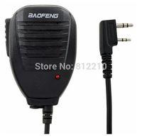Wholesale Baofeng TG UV2 Handheld Microphone Speaker MIC for two way radio UV R A E UV B5 UV B6 BF S BF S