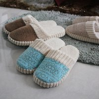 house slippers men - New Arrival Slippers for Women Man Warm House Slippers for Women Fashion Charming Style for Sale