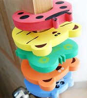 baby lock prices - Low Price Animal Cartoon Baby Safety Door stopper baby finger protecting product Children safe anticollision Z1063