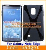 Cheap Anti-Slip X Line X-Shape TPU Rubber Gel Case Cover Skin for Samsung Galaxy Mega 2 Grand Prime Note Edge Alpha 200case+200film G7508C01