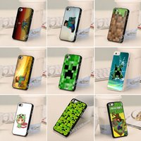 3d iphone 4 case - New Arrival Minecraft Cell Phones Cases for Iphone s Cover D Cartoon Iphone Faceplate PC