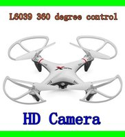 3d rc helicopter - L6039 Explorers G CH Axis New HD camera degree RC Helicopter ufo D Fly Gyro RC Quadcopter HID Aircraft Camera free DHL