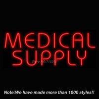 best medical supplies - Medical Supply Neon Sign Neon Bulbs Recreation Room Garage Real Glass Tube Handcraft Best Gifts Beer Bar Pub Store Display32x13